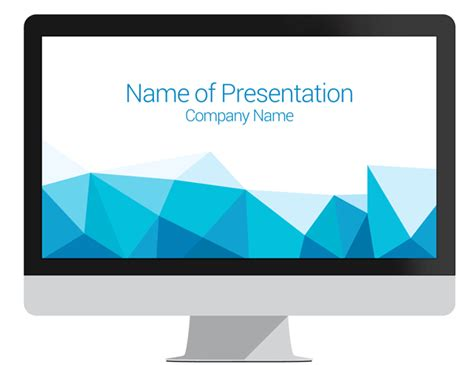 Home Design Elements Reviews Polygonal Powerpoint Template Presentationdeck Com
