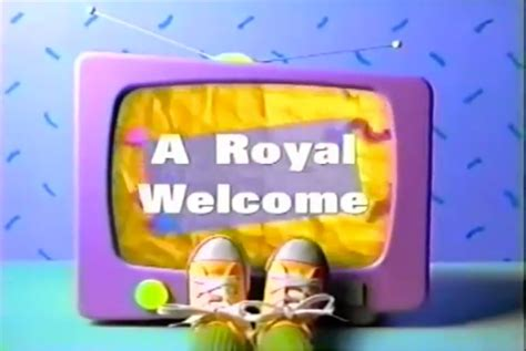 Royal Welcome For The by A Royal Welcome Barney Friends Wiki Fandom Powered By