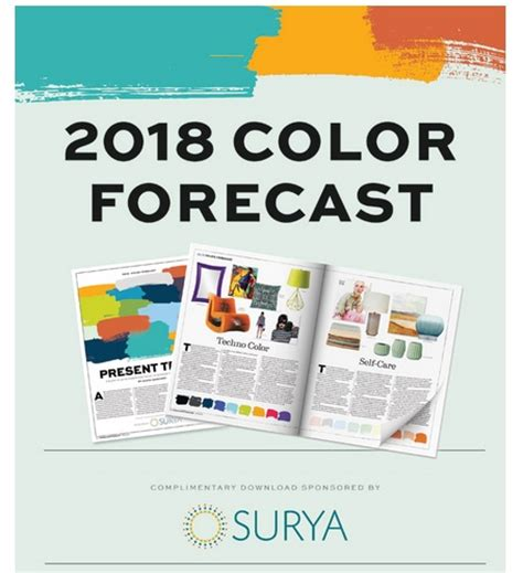 Color Forecast | 2018 color forecast now available home accents today