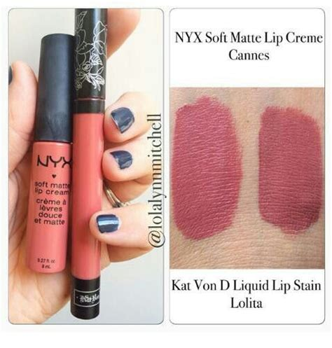 Diskon Nyx Soft Matte Lip Cannes 100 Original makeup dupes do liquid lip stain in vs nyx soft matte lip in cannes
