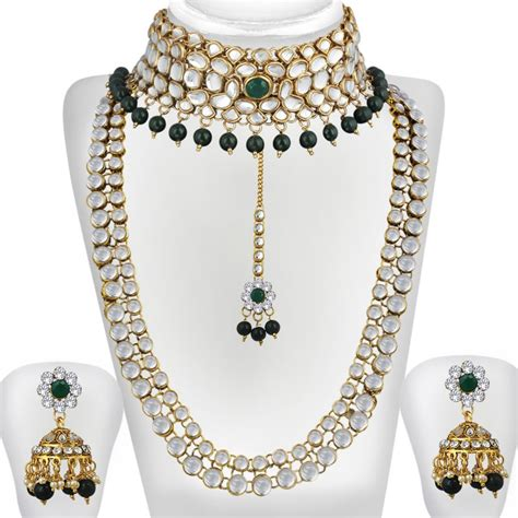 Fashion Bridal Jewelry Sets kundan jewelry sets gold style guru fashion glitz