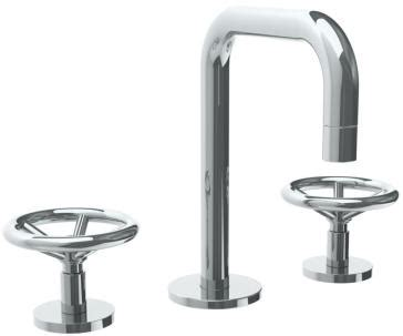 watermark 31 2 1 bk widespread lavatory faucet