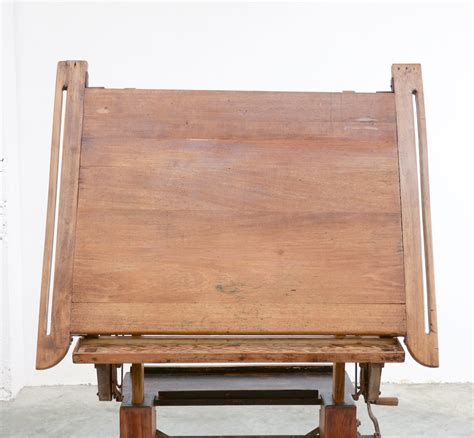 drafting table wooden impressive industrial wooden drafting table vintage