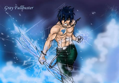 wallpaper grey fullbuster gray fullbuster by nizhan on deviantart