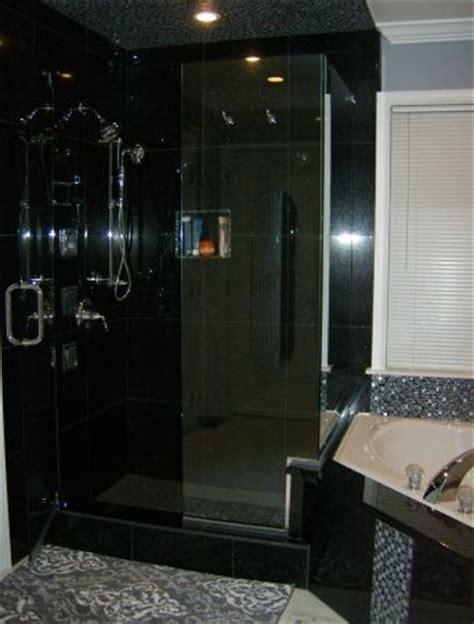 black granite in bathroom 17 best images about master bath black granite on