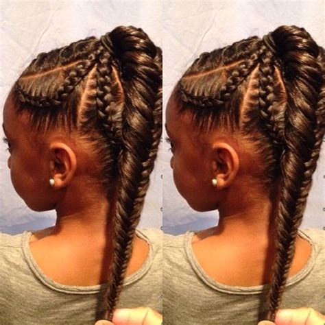 fishtail braid hairstyles for black women cornrows fishtail black girl hairstyles hairstyles