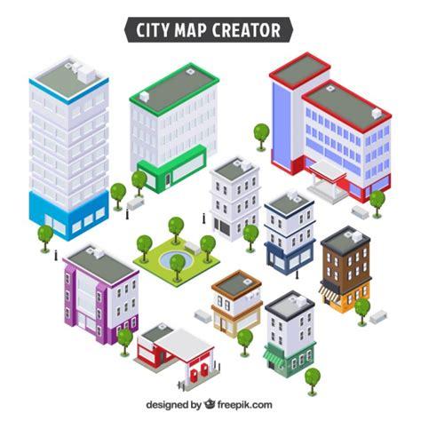 oga home design products verzameling gebouwen van een stad te cre 235 ren vector