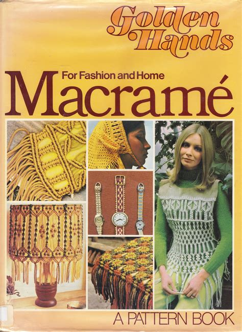 Macrame Book - macrame awful library books