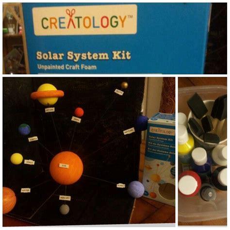 solar system project kits creatology crafts foam