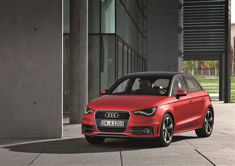 Audi A1 Sportback Misano Red by 2012 Misano Red Audi A1 Sportback S Line Front Eurocar