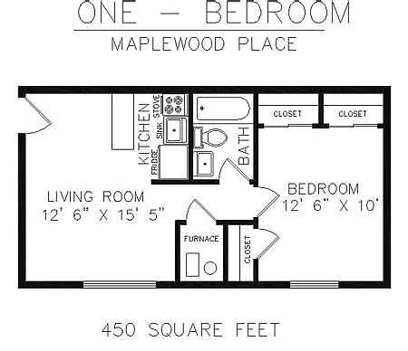 450 sq ft apartment one bedroom mankato apartment highland hills