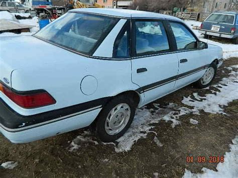 old car repair manuals 1991 ford tempo interior lighting rare 1991 ford tempo 4x4 four wheel drive awd amc eagle cousin