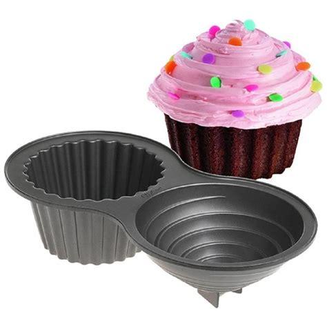 Giant Cupcake Cake Pan | wilton 3d giant cupcake non stick cake tin pan wilton