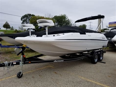 deck boat for sale illinois hurricane boats for sale in illinois boats