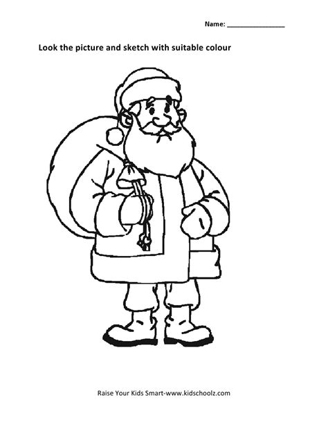 Colouring Worksheet Coloring Pages For Ukg In
