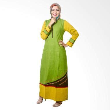 Baju Muslim Wanita Gamis Dress Ar119662jm Hijau jual believe ag 27 baju muslim gamis dress modern wanita kaos hijau harga kualitas