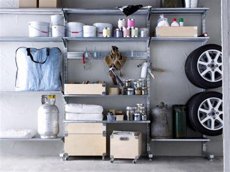 regalsystem garage garage einrichten tipps f 252 r mehr stauraum trendblog