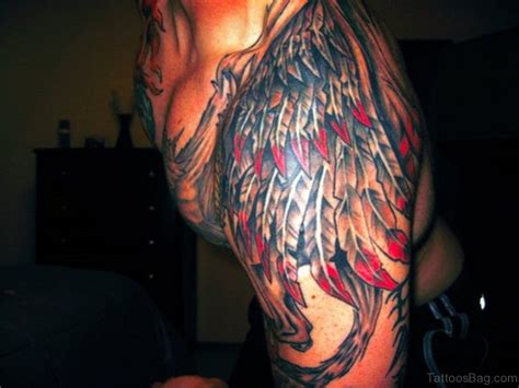 colored tattoos for men 54 wonderful shoulder tattoos for