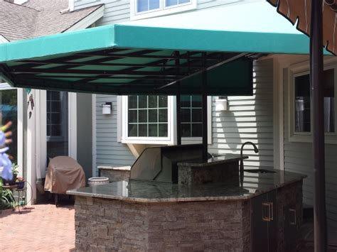 Outdoor Kitchen canopy cover   Kreider's Canvas Service, Inc.