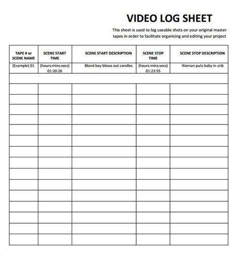 log sheet template log sheet template pictures to pin on pinsdaddy