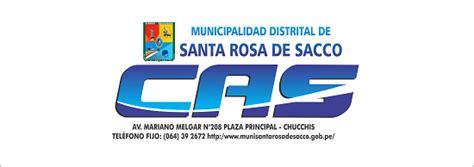 convocatoria cas municipalidad de jauja convocatorias cas municipalidad distrital de santa rosa