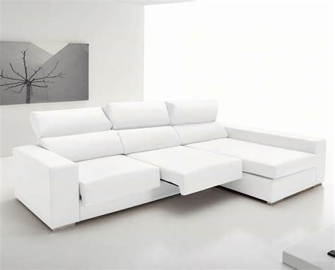 sofa piel chaise longue sof 225 s chaise longue de ecopiel la tienda home