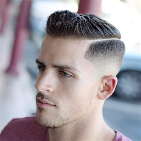 hairstyles to the side for guys haircut styles for men 2017 side part hairstyles for men