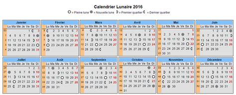 Calendrier De La Lune Calendrier 2015 Gratuit Calendrier Lunaire 2016 Gratuit