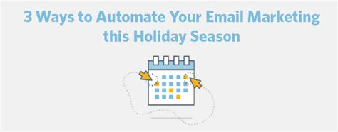 3 ways to automate your email marketing this