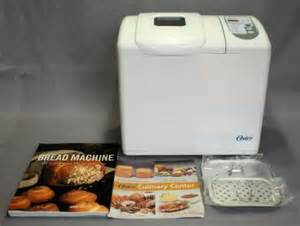 Oyster Bread Machine Recipes Oster 5845 Culinary Center 2 1 2 Lb Bread Maker Machine