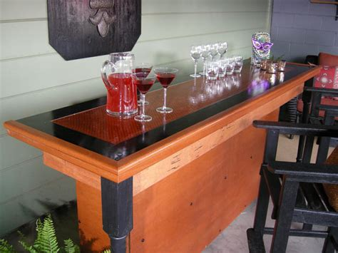 how to build a wood bar top woodwork how to build wood bar pdf plans