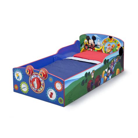 mickey bed delta children mickey mouse convertible toddler bed reviews wayfair