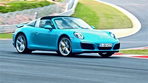 2016 Porsche 911 Targa 4s Miami Blue