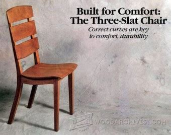 Slat Chair Plans by Diy Ottoman Woodarchivist