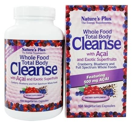 Whole Food Detox Plan by Buy Nature S Plus Whole Food Total Cleanse With