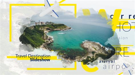 Travel Destination Slideshow Special Events After Travel Slideshow After Effects Template