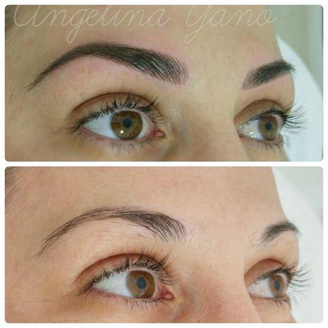 eyebrow tattoo shapes the 25 best permanent eyebrows ideas on pinterest