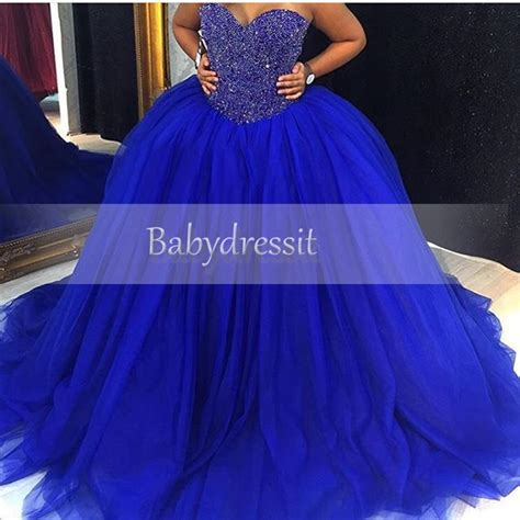 blue puffy prom dress new arrival sweetheart royal blue prom dresses 2017 puffy