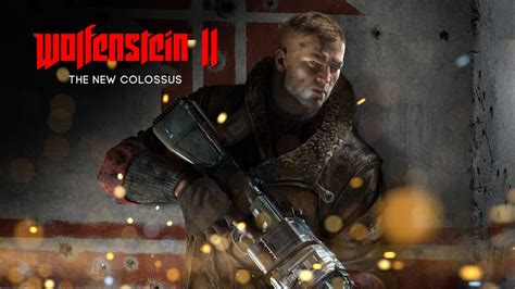 Wolfenstein 2 The New Colossus   Wallpaper Games