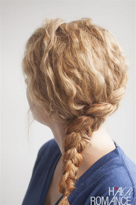 curly hairstyles with braids on the side curly side braid hairstyle tutorial hair romance