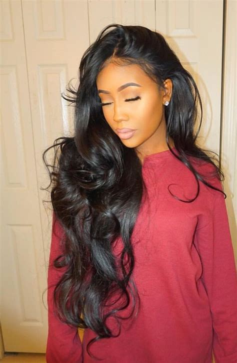 Black Hairstyles With Weave by 25 Best Ideas About Black Weave Hairstyles On