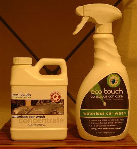 Ecowash Only review ecotouch waterless wash concentrate