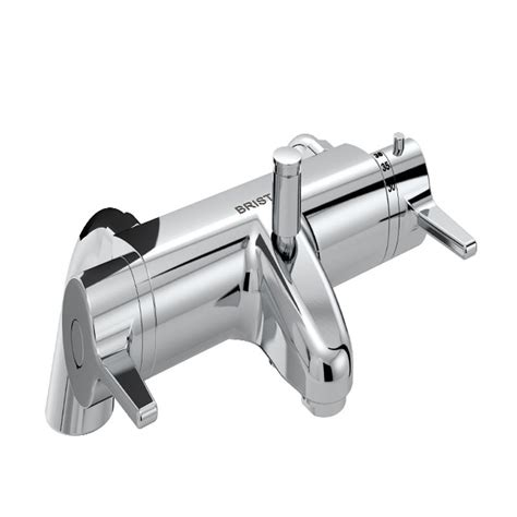 Bristan Thermostatic Bath Shower Mixer bristan design utility lever thermostatic bath shower mixer