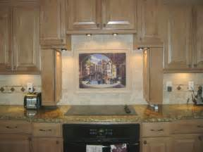 kitchen murals backsplash decorative tile backsplash kitchen tile ideas archway to venice tile mural