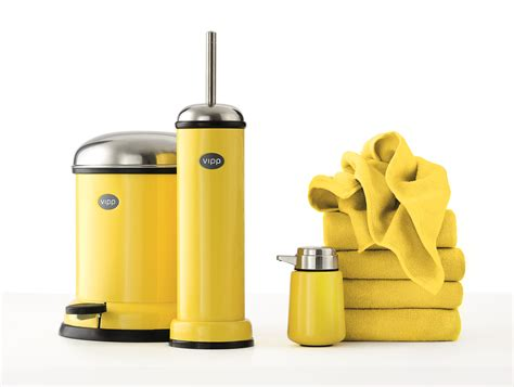yellow bathroom accessories vipp accessories eway furniture
