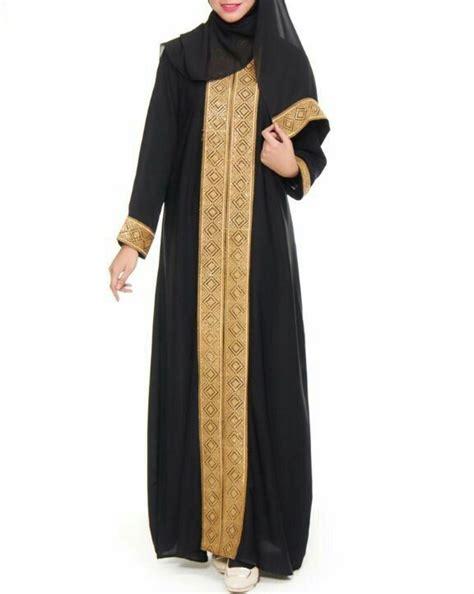 Kutek Muslimah Warna Black 17 Best Images About Jubah Hitam Gold Untuk Muslimah On