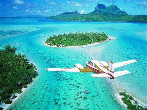 plage sable blanc en polynesie francaise les