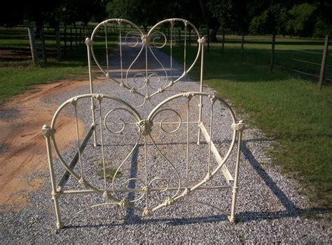 Antique Wrought Iron Bed Frames For Sale Calling It Home Shaped Stuff