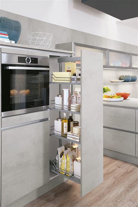 quadratisches küchen layout k 252 che braun blau