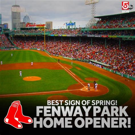 2015 boston sox fenway park home opener wcvb